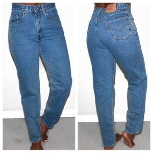 Levi's Vintage 550 High Waist Classic Mom Jeans